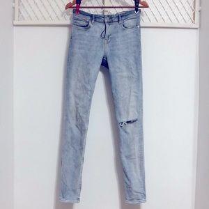 ALL SAINTS Slim Light-wash Mast Fit Denim Jeans